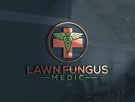 Lawn Fungus Medic Logo - Entry #219