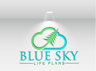 Blue Sky Life Plans Logo - Entry #52