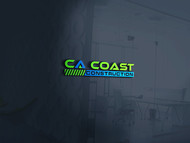 CA Coast Construction Logo - Entry #183