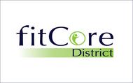 FitCore District Logo - Entry #105