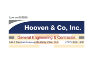 Hooven & Co, Inc. Logo - Entry #55