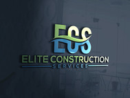 Elite Construction Services or ECS Logo - Entry #220