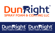 Dun Right Spray Foam and Coating LLC Logo - Entry #68