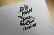 Big Man Towing Logo - Entry #45