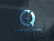 QuaranClean Logo - Entry #144
