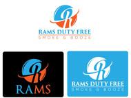 Rams Duty Free + Smoke & Booze Logo - Entry #227
