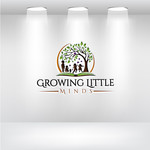 Growing Little Minds Early Learning Center or Growing Little Minds Logo - Entry #28