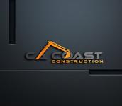 CA Coast Construction Logo - Entry #205