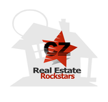 CZ Real Estate Rockstars Logo - Entry #25