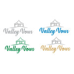 Valley Vows Logo - Entry #136