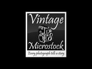 Vintage Microstock Logo - Entry #116