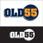 """""""OLD 55"""" - mid-century vintage furniture and wares store Logo - Entry #5"""