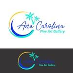 Ana Carolina Fine Art Gallery Logo - Entry #171