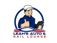Leah's auto & nail lounge Logo - Entry #139