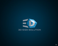 3D Sign Solutions Logo - Entry #76