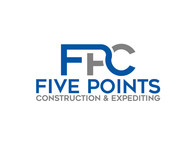 Five Points Construction & Expediting Logo - Entry #7