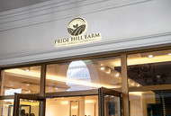 Pride Hill Farm & Garden Center Logo - Entry #10