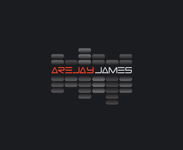arejay james Logo - Entry #45