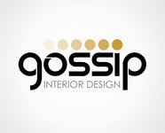 Gossip Interior Design Logo - Entry #83