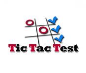 TicTacTest Logo - Entry #64