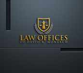 Law Offices of David R. Monarch Logo - Entry #225