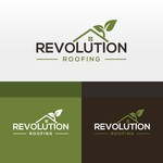 Revolution Roofing Logo - Entry #515