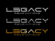 LEGACY RENOVATIONS Logo - Entry #51