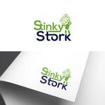 Stinky Stork Logo - Entry #34