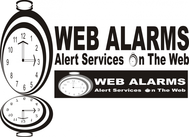 Logo for WebAlarms - Alert services on the web - Entry #95
