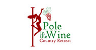Pole in the Wine Country Retreat  Logo - Entry #15