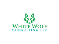 White Wolf Consulting (optional LLC) Logo - Entry #443