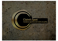 Claire's Spot Logo - Entry #30