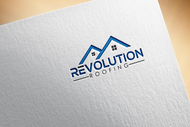 Revolution Roofing Logo - Entry #101