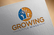 Growing Little Minds Early Learning Center or Growing Little Minds Logo - Entry #13