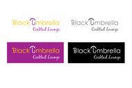 Black umbrella coffee & cocktail lounge Logo - Entry #143