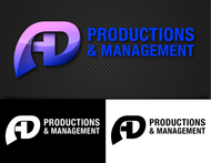 Corporate Logo Design 'AD Productions & Management' - Entry #100