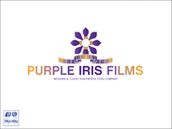 Purple Iris Films Logo - Entry #48