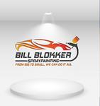 Bill Blokker Spraypainting Logo - Entry #157