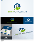 Spring City Content, LLC. Logo - Entry #52