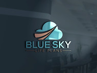 Blue Sky Life Plans Logo - Entry #197