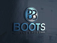 Boots and Birdies Logo - Entry #18
