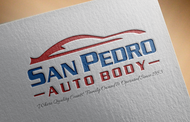 San Pedro Auto Body Logo - Entry #38