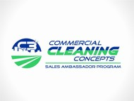 Commercial Cleaning Concepts Logo - Entry #24