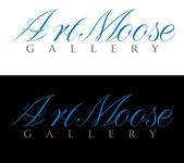 ArtMoose Gallery Logo - Entry #40
