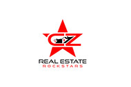 CZ Real Estate Rockstars Logo - Entry #93