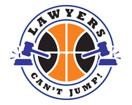 "charity basketball event logo (name with logo is ""lawyers can't jump"") - Entry #2"
