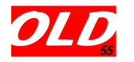 """""""OLD 55"""" - mid-century vintage furniture and wares store Logo - Entry #57"""