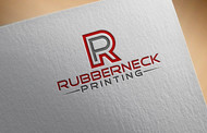 Rubberneck Printing Logo - Entry #46
