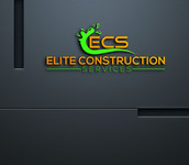 Elite Construction Services or ECS Logo - Entry #311