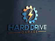Hard drive garage Logo - Entry #147